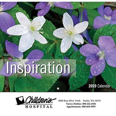 inspiration wall calendar - stapled