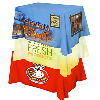 full color table cover - 4 table