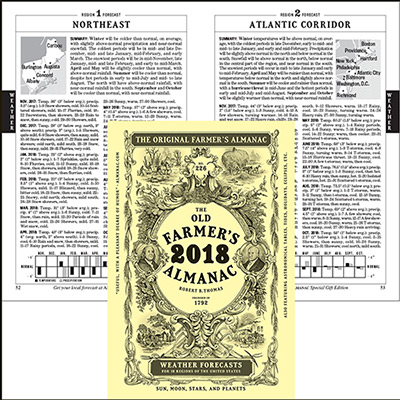 The Old Farmer's Almanac Booklet