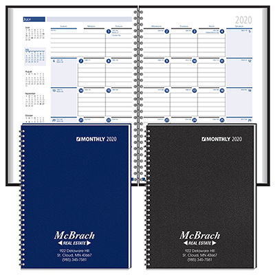Ruled Monthly Format Wired Planner