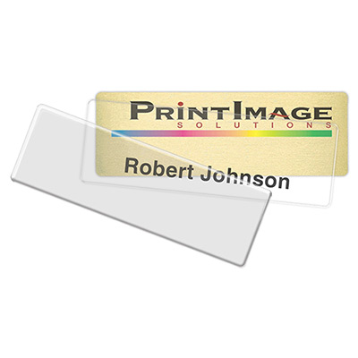 Complete Click-It Name Badge - Full Color