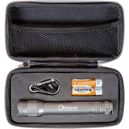 aluminum matrix flashlight - 2aa