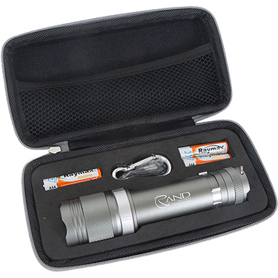 aluminum matrix flashlight with cree leds - 3aaa