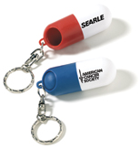 Personalized Pill Holder Keychain