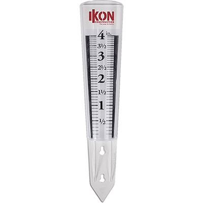 4 magnifying rain gauge