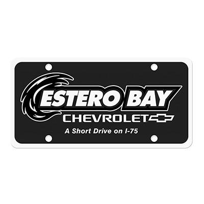 license plate insert