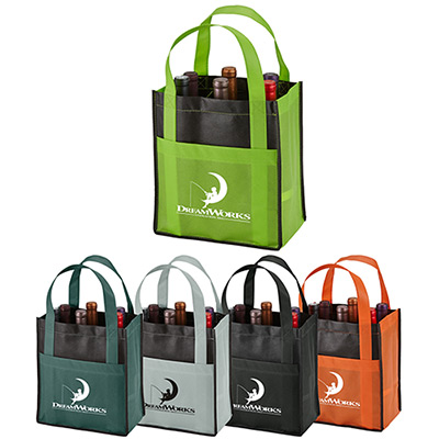 Toscana Six Bottle Wine Tote