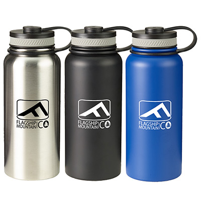 27 oz. rainier stainless steel bottle