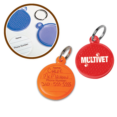 Round Reflective ID Tag