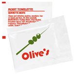 9295 - Moist Towelette Packet