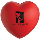 Promotional Heart Shape Stress Ball, Branded Stress Balls