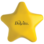 Promotional Star Shape Stress Ball, Corporate Stress Balls
