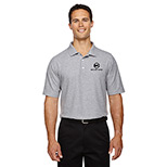 Devon Jones Men DRYTEC Performance Polo GREY HEATHER 26486