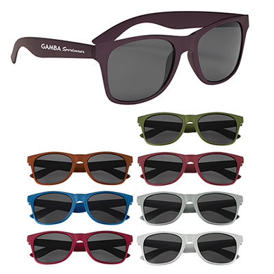 matte finish malibu sunglasses