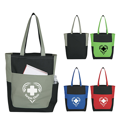 Triple Pocket Tote