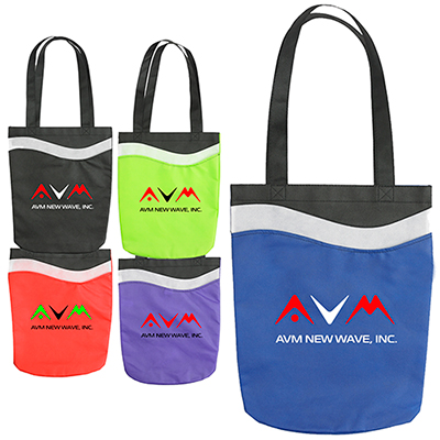 Wave Tote Bag - Full Color