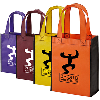color combination gift tote