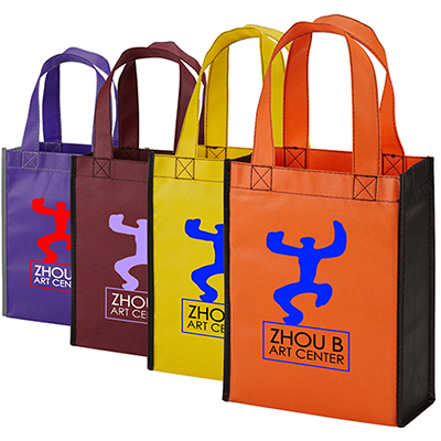 color combination gift tote - full color