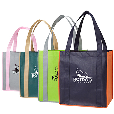 Color Combination Grocery Tote