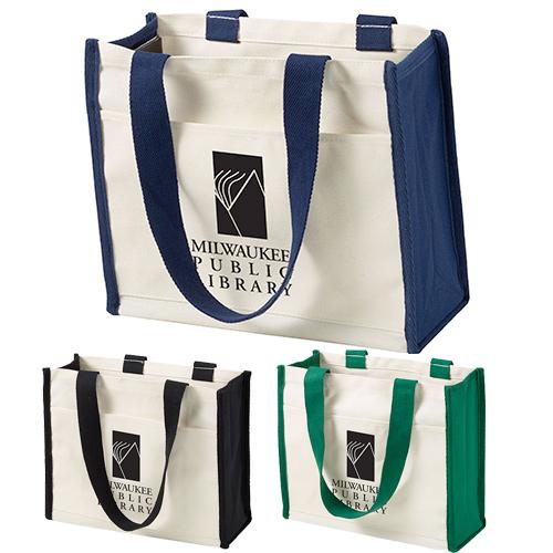 14 oz. coventry cotton canvas tote bag