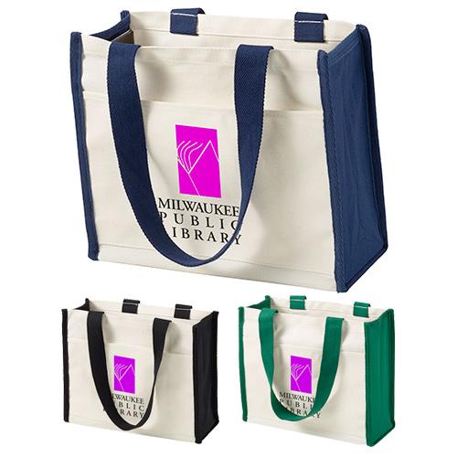 14 oz. coventry cotton tote bag - full color
