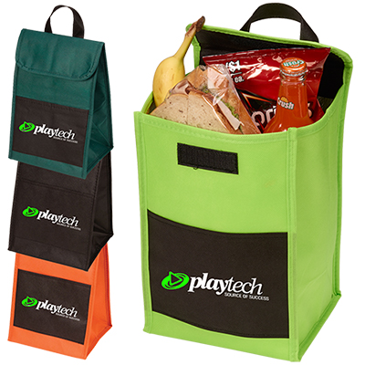 non-woven lunch-in bag - full color