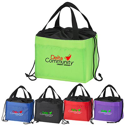 Cinch-Up Lunch Bag - Full Color