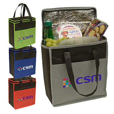 transport small cooler tote - full color