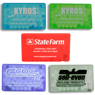 Rectangular Slim Mint Cards