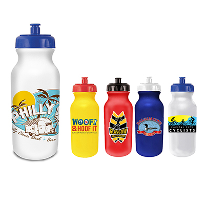 20 oz. Value Cycle Bottle - Full Color