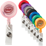 4265 - Colorful Retractable Badge Holder