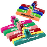 Custom Bag Clips, Personalized Bag Clips, Imprinted Bags