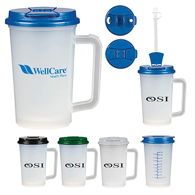 22 oz. medical tumbler with handle