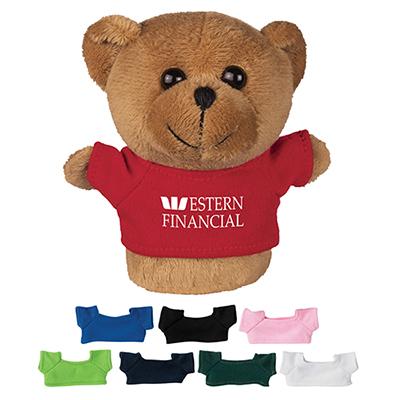 4 mini plush buddies bear