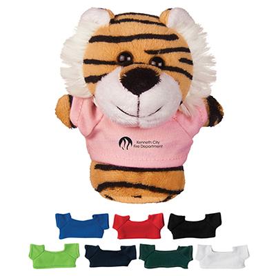 4 mini plush buddies tiger