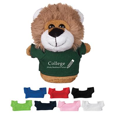 4 mini plush buddies lion