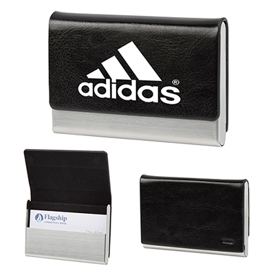 Personalized business card holder promo direct executive business card holder reheart