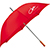 Umbrella red 26992
