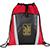 Vortex Mesh Pocket Drawstring Sportspack red 26999