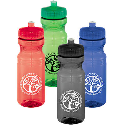 24 oz. Easy Squeezy Sports Bottle - Crystal