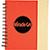 Spiral Notebook red 27028
