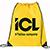 Large Oriole Drawstring Sportspack yellow 27041