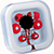 Earbuds with Microphone red 27051