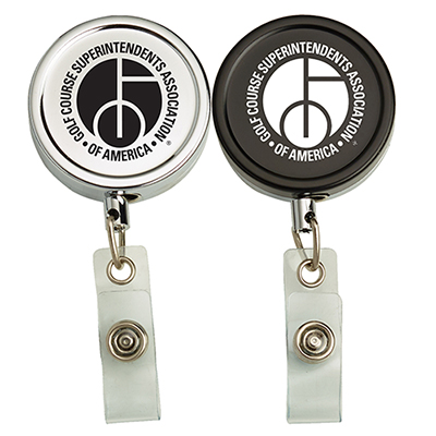 metal secure-a-badge