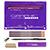 Academic School Kit purple 27135