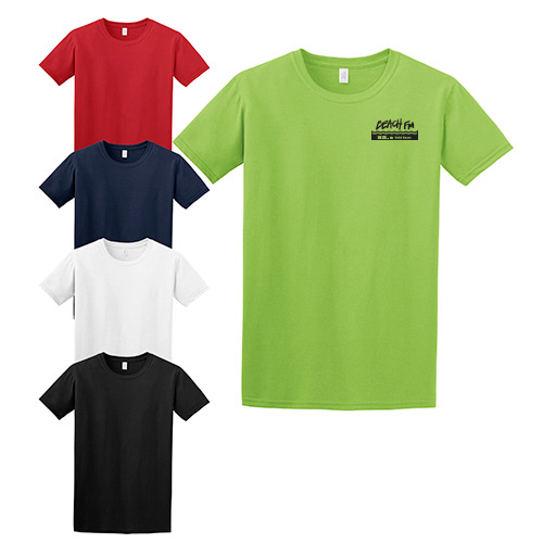 gildan softstyle® t-shirt (color)