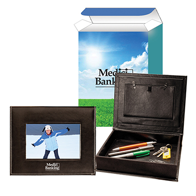photo and memory box with custom box
