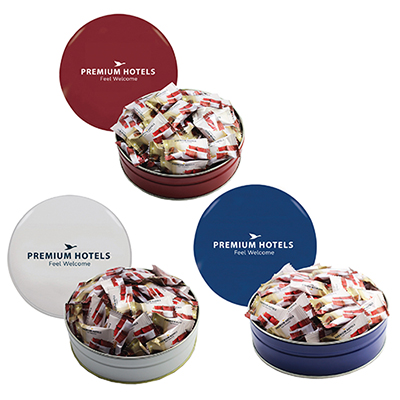 grand tin with individual mints