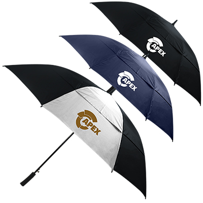 64 totes® neverwet auto open golf umbrella