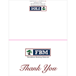 F27309 - FBM Thank You Cards